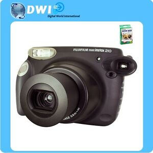 EXPRESS SHIP SALE NEW FUJI INSTAX 210 INSTANT FILM CAMERA + **100PCS WIDE FILMS