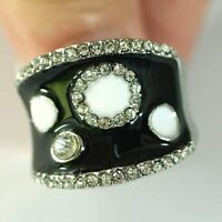Size 6.5 Lady's Mystical Ringlet Diamante Gemstone Ring -NEW!!