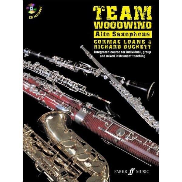 Team Woodwind Alto Saxophone Eb (Book/CD) - Same Day P+P
