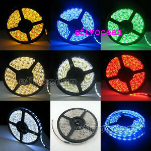 10M-3528-SMD-300-LED-Flexible-Strip-Lights-7-Colors-RGB-CAR-DIY-Whole-Sale