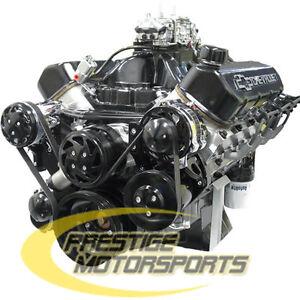 700 Hp Big Block Chevy 582 Stroker Custom BBC Crate Engine Complete 454 496 502