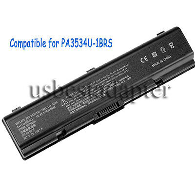 6 Cell Battery for Toshiba PA3534U-1BRS PA3535U-1BRS PA3535U-1BAS PABAS098 Black on Rummage