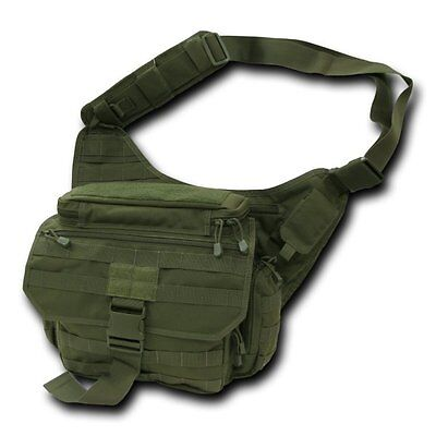 Buy hiking equipment - Olive Tactical Field Pack Messenger Bag Strap Military Army Hiking Gear Backpack