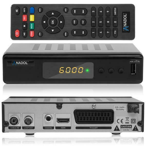 Anadol HD 111c digitaler Full HD Kabel-Receiver (HDTV, DVB-C / C2, HD