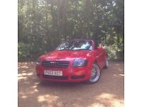 Audi TT convertible Low Mileage