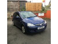 Vauxhall Corsa 1.2 petrol, low mileage, just MOT'd