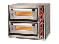 Brand new Pizza oven 2 chambers 6+6 pizzas at 12"