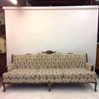 Antique style chair and sofa