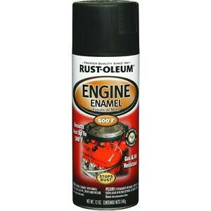 Rust-Oleum High Temp Engine Spray Paint Flat Black