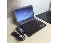Sony vaio laptop , 500gb Hdd, 4gb ram,Intel core i5 processor .