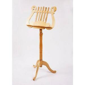 EMS Finale Solid Wooden Music Stand In Maple **NEW**