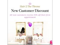 Multi-Cultural Hair Extensions Studio in South London