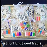 Paint your own cookies! And more..
