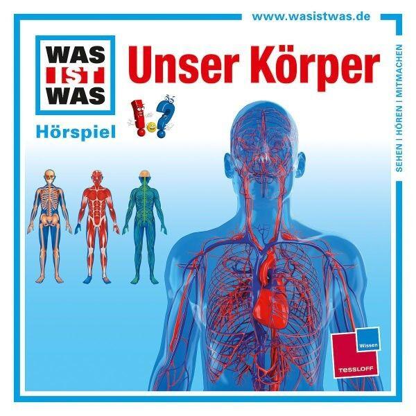 WAS IST WAS - UNSER KÖRPER (EINZELFOLGE)  CD NEU