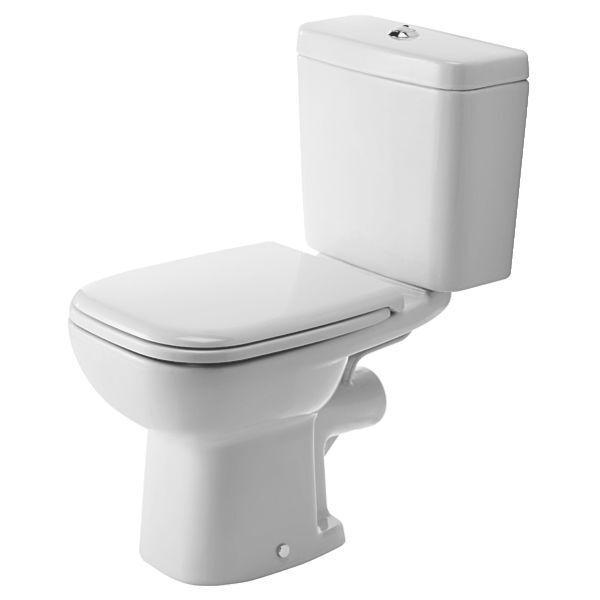 duravit d code wc bathroom suite toilet basin sink pedestal pan soft close seat ebay. Black Bedroom Furniture Sets. Home Design Ideas