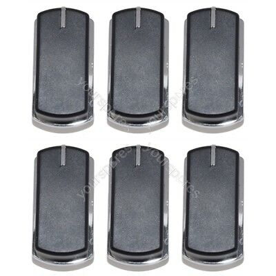 Fits Belling 444449563 and 444449567 Cooker Oven Hob Stove Grill Control Knob x6
