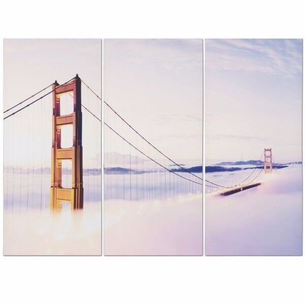 Brand New in Packaging Golden Gate Triptych Canvas