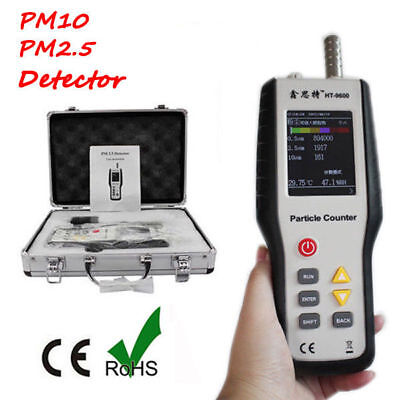 Ht-9600 Pm2.5 Detector Particle Monitor Laser Dust Humidity Meter Air Analyzer