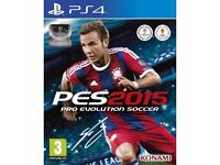 PS4 - PES 2015 PRO EVOLUTION SOCCER - NEW - £3 ONLY
