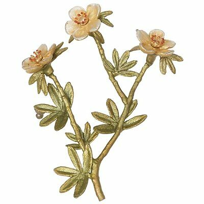 Tundra Rose Pin Brooch by Michael Michaud #5959BZGS