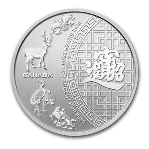 Silver Canada $5 Five Blessings argent 2014 (.9999) 1 oz MRC
