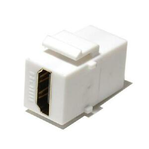 BlueDiamond HDMI F Keystone Insert - HDMI A Female to A Female - White - 7227