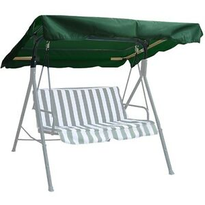 New deluxe outdoor swing canopy replacement porch top cover seat patio