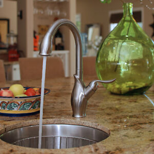 New Fontaine Pull out kitchen faucet // Robinet