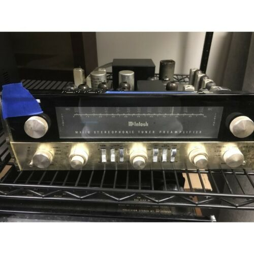 Mcintosh MX110 tube tuner preamplifier