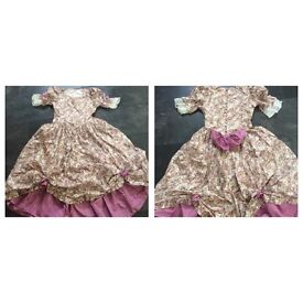 Vintage Bridesmaid Dress Size 9-15 yrs old - In Excellent Clean Condition