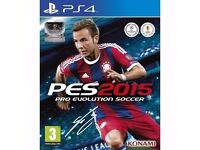 PES 2015 - New - PS4 Game - £3!