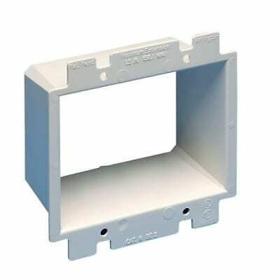 2 Arlington Be2 2-gang Electrical Outlet Box Extender - Pack Of 2