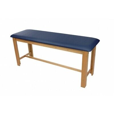 Treatment Table - New H-brace Eucalyptus Exam Table 29.5 Navy Blue Cushion Top