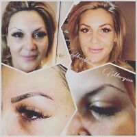 Feathering eyebrows by Maryam $250 special of October