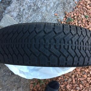 Used Snow Tires 205 55 16 in Great Condition Cambridge Kitchener Area image 1