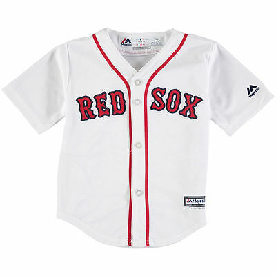 Boston Red Sox BABY INFANT Official Majestic Baseball Jersey 24 Months