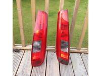 Ford fiesta rear lights