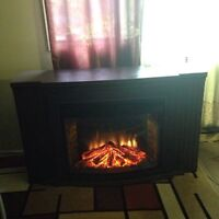Fireplace with a heat for sell