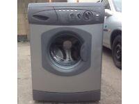 Silver/grey Hotpoint washer ..........