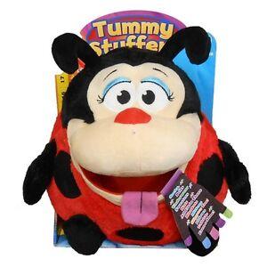 Tummy-Stuffers-Red-Black-Ladybug-size-14-x-10-x-4