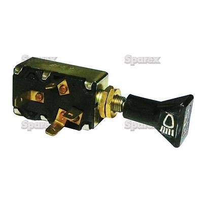 Farmtrac/Landtrac Tractor Light Switch 45 & 60 Pull-Type Off-On-On 92NH11654AA for sale  Shipping to India