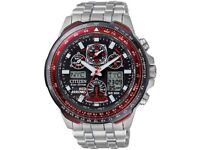 Men's citizen eco-drive watch red arrows edition