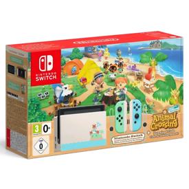 Nintendo Switch Console. Animal Crossing: New Horizons