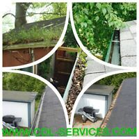 Call 780-707-7767 for Eavestrough Cleaning|SNow Removal