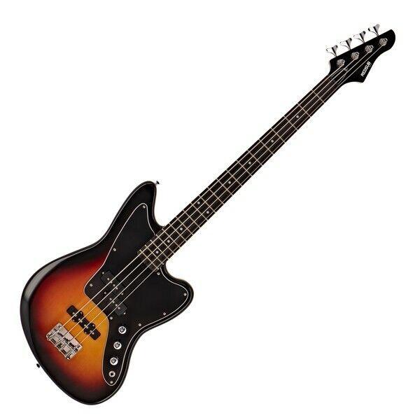 RedSub SF Bass Guitar Tobacco Sunburst