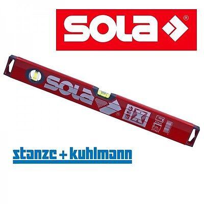 NEU  Sola Wasserwaage Model BigX  800mm 80 cm >>robustes Rohrprofil<< Big X