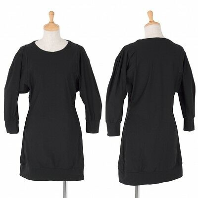 LIMIfeu Pleated sleeve tunic tops Size S(K-37263)