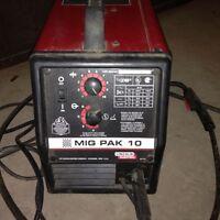 Lincoln Electric Mig Pak Welder