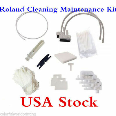 Usa Stock Roland Cleaning Maintenance Kit Roland Sp-300 Sp-540
