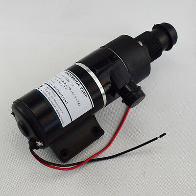 12V 45LPM 12GPM Macerator Sanitation Abuse Water Pump Toilet RV Marine For Sale